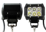 2-New 4 inch 18 Watt Flood CREE LED Work Light bars 2